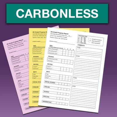 Carbonless sets