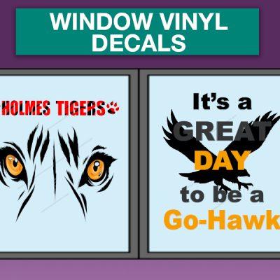 Window Vinyl Decals