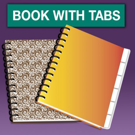 BOOK WITH TABS