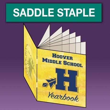 saddle staple