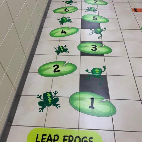 leap frogs