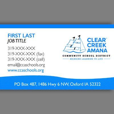 CCA Business Cards